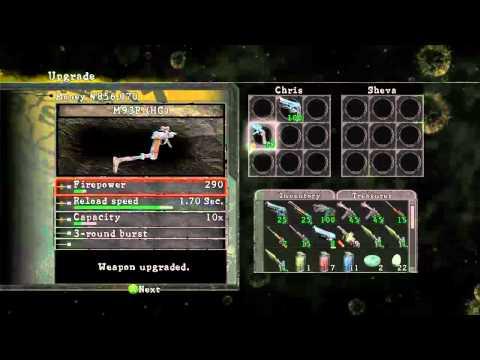 """Resident evil 5 How to unlock """"M93R"""" Hand Gun"""