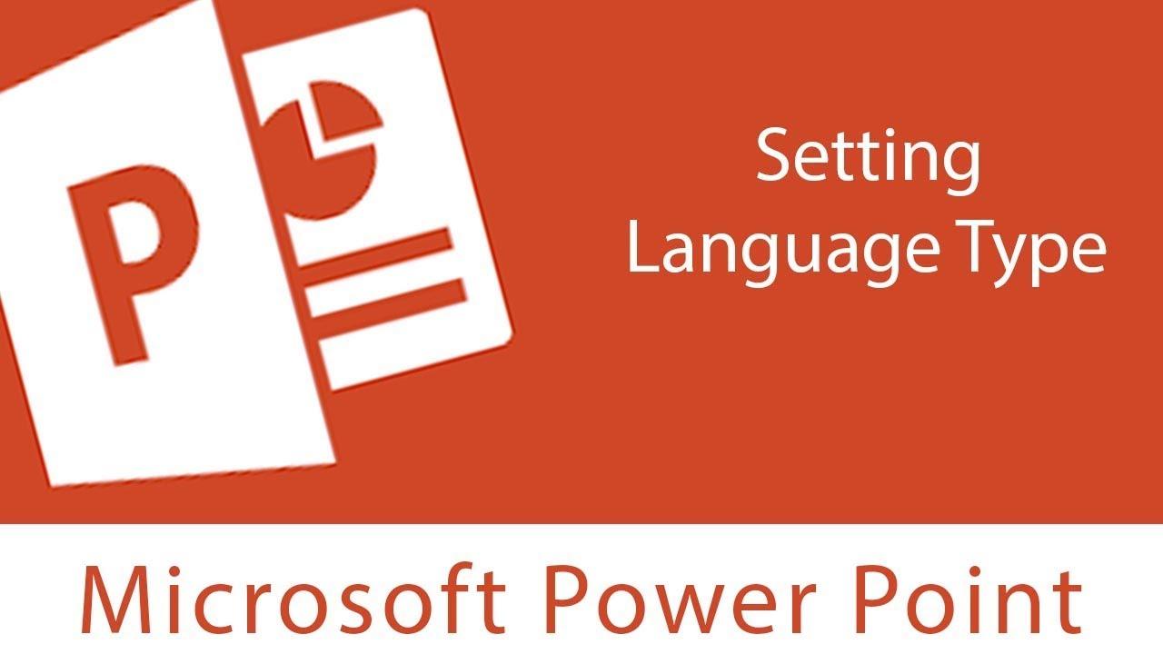 Powerpoint setting language type and proofing youtube powerpoint setting language type and proofing toneelgroepblik Gallery