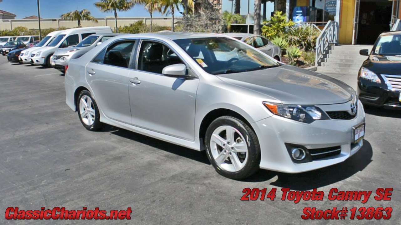 2014 Camry Se For Sale >> Used Car Near Me 2014 Toyota Camry Se For Sale In San Diego Stock 13863