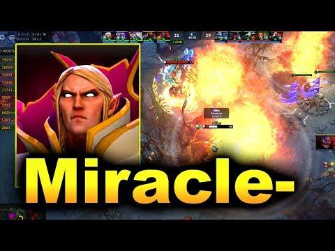 MIRACLE- SUNSTRIKE GOD - PRO INVOKER VS PUB DOTA 2 thumbnail