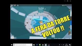 Roblox - A FERA DA TORRE DO INFERNO VOLTOOU !!! (Tower of Hell)