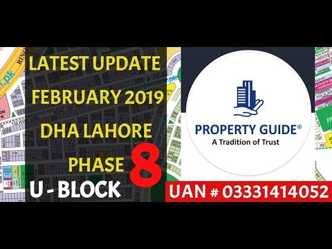 DHA LAHORE PHASE 8 U BLOCK #LATEST_UPDATE VISIT BY PROPERTY