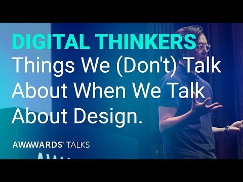 Khoi Vinh Things We (Don't) Talk About When We Talk About Design.