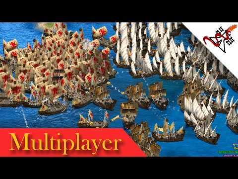 Age of Empires 2 - 7P WAR OF WESTERN EUROPE | Multiplayer Gameplay