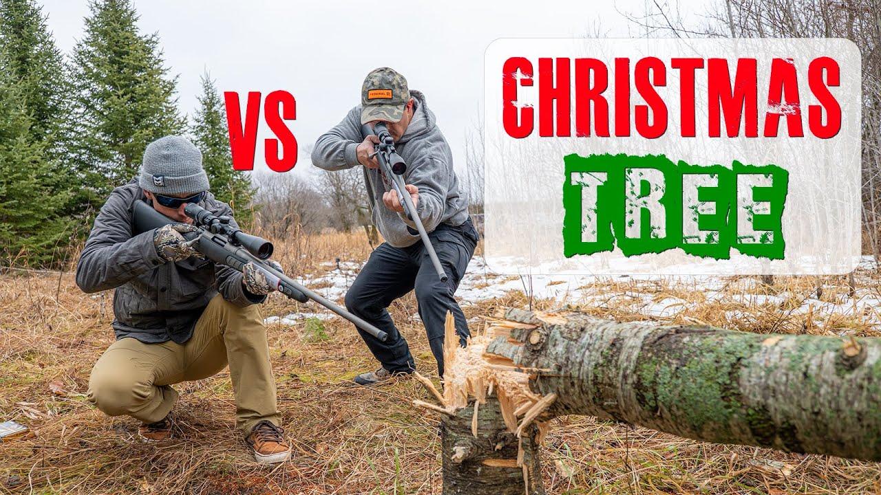 300 Win Mag vs 6.5 Creedmoor vs Christmas Tree | Gould Brothers
