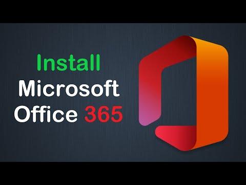 Как установить Microsoft Office 365