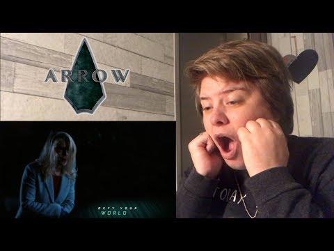 Arrow - 6x14 [ Collision Course ] Reaction