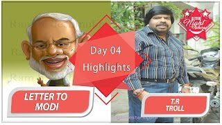 Tr troll | letter to namo | day #04 | settai night show | smile settai