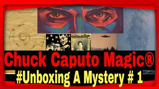 "Magic's Great Chuck Caputo Unboxes a ""STRANGE"" House Of The Unusual Box. #Chuck Caputo Magic®"
