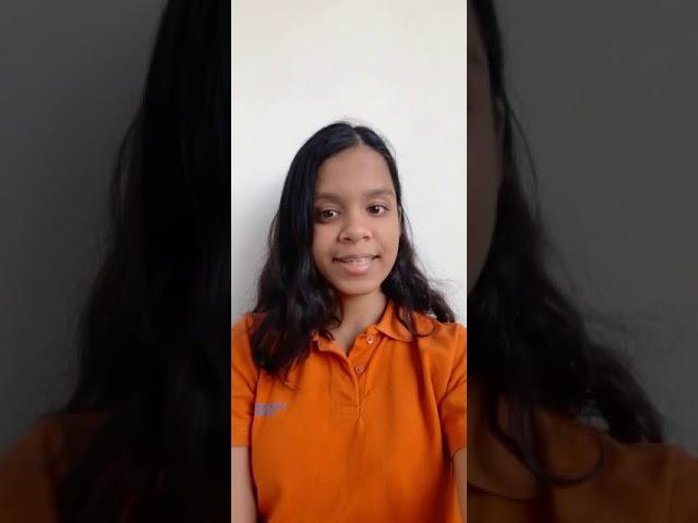 Student's Testimonial - Sakshi Singhal