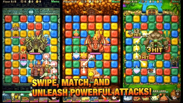 Puzzle Monster Quest - Mobile Game Trailer - YouTube