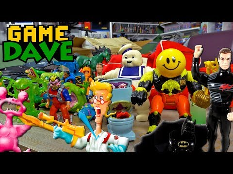 FINDING MY VINTAGE 80s and 90s TOYS! | Game Dave