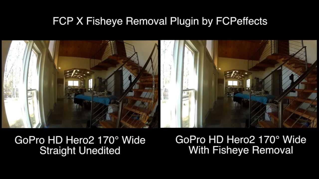 How To Remove Fisheye Gopro