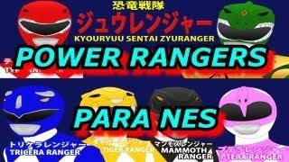 Longplay Power Rangers 2 (NES) - Jogo Completo - (Aka) Longplay Kyōryū Sentai Zyuranger NES