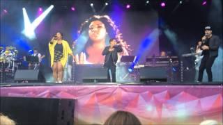 "Albin feat. Kristin Amparo & Mattias Andréasson - ""Din Soldat"" (Rix FM Festival 2014 i Linköping)"