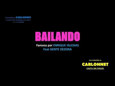 Bailando   Enrique Iglesias   Gente De Zona Karaoke