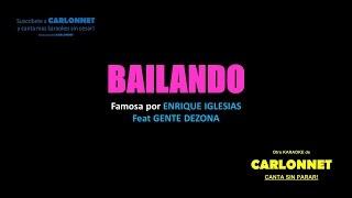 Bailando - Enrique Iglesias - Gente de Zona (Karaoke)
