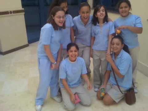 Grade 6 girls at EAIS in the 5th district Cairo Egypt