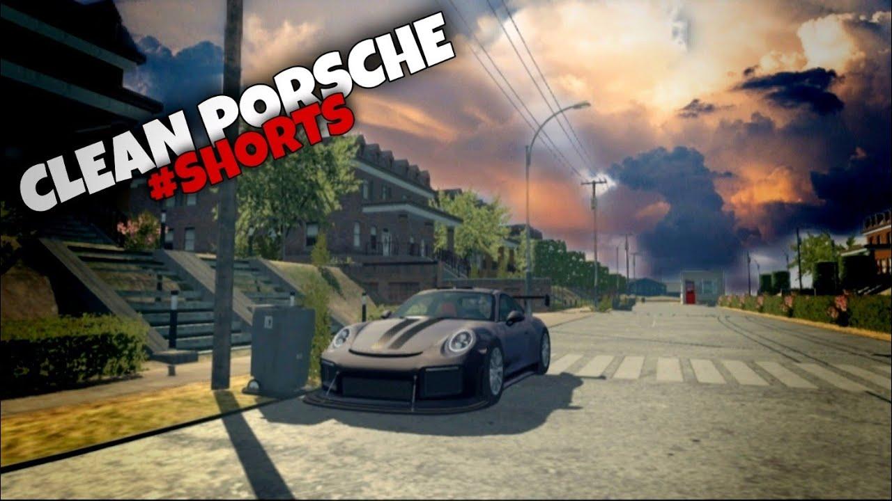 Clean Porsche | Small Edit | Car Parking Multiplayer | #SHORTS