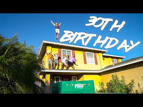 30 YEAR OLD TRIPLE BACKFLIP OFF A ROOF