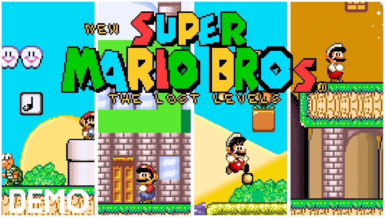Mario Bros Lost Levels Rom