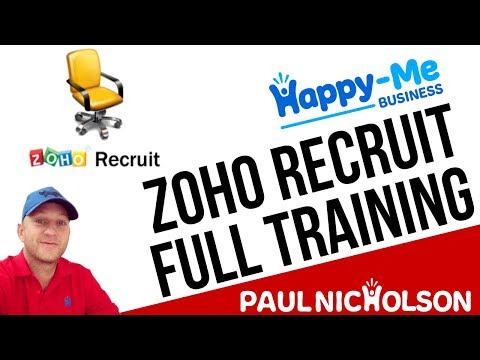 Zoho Recruit Candidate Management Explained
