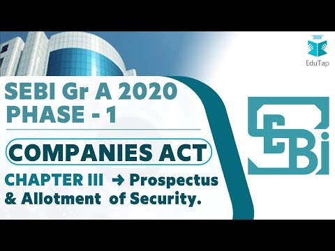 lecture-1|-companies-act-|-chapter-iii---prospectus-&-allotment-of-securities-|-sebi-gr-a-2020