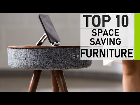 Top 10 Amazing Space Saving Furniture for Small Home