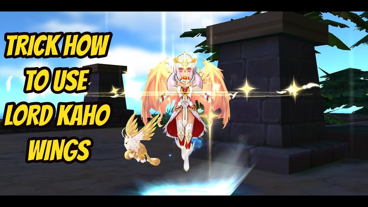 TRICK HOW TO USE LORD KAHO WINGS RAGNAROK MOBILE SEA