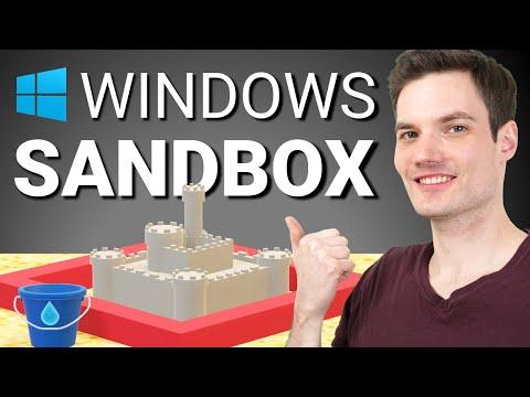 How to use Windows Sandbox - a lightweight virtual machine