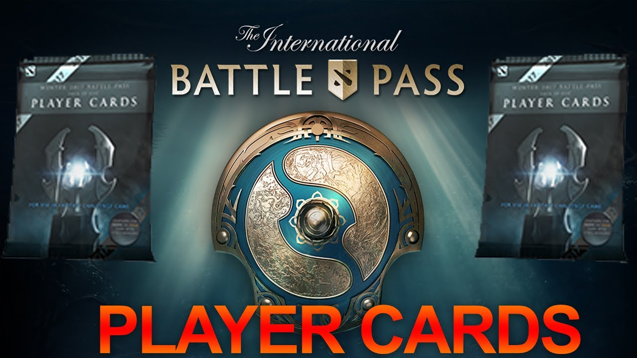 Dota 2 Immortal Items And Player Cards Released: DOTA 2: Ti7 Player Card Pack Opening (The International