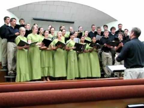 Who Am I ~ Mennonite Youth Chorus