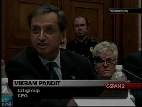 Finance CEOs on the Use Federal Funds by Financial Institutions Part 3 (2009)