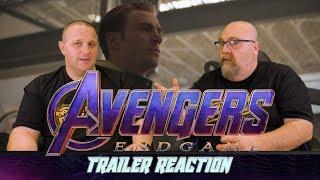 Avengers Endgame Trailer #2 Reaction