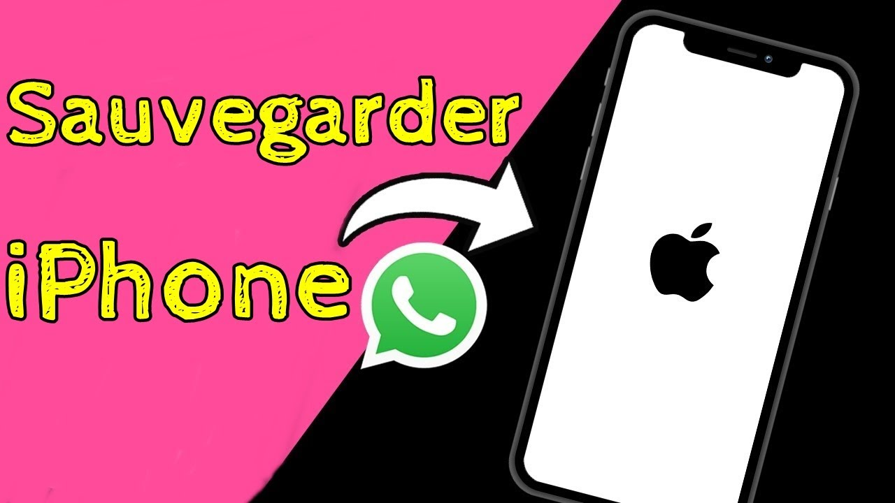 Comment Sauvegarder Whatsapp iPhone 2021
