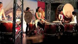 Joji Hirota & the Taiko Drummers: Hokkai II