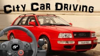 City Car Driving #3 with Logitech Driving Force GT [Audi RS2]