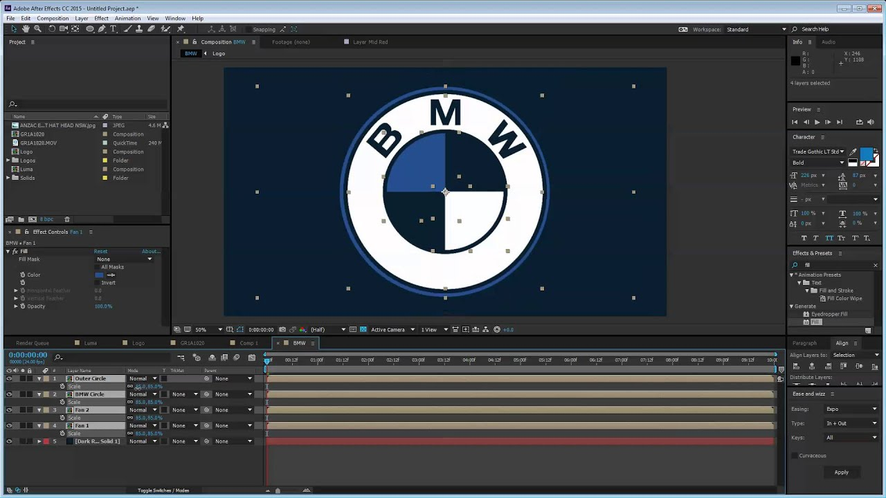 Week 6 - BMW Logo Animation