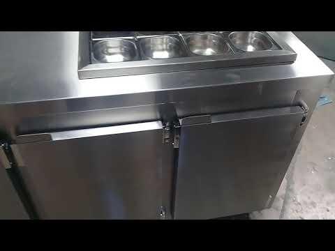 Balcao Refrigerado Com Cubas Refrigeradas Youtube