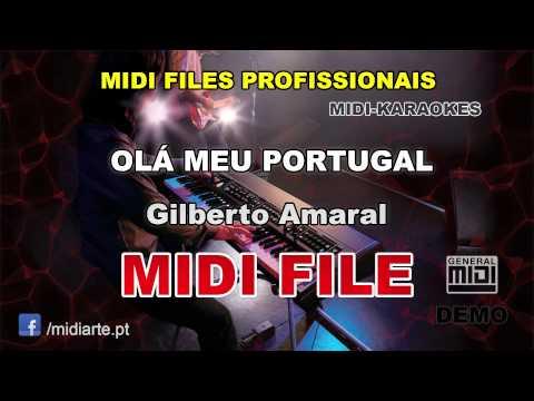 ♬ Midi file  - OLÁ MEU PORTUGAL - Gilberto Amaral