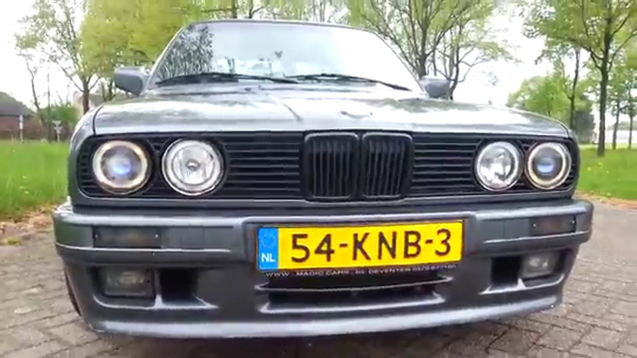 Bmw E30 325i 200hp M3 Mtech 2 1989 Acceleration Driving