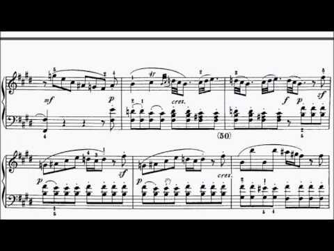 ABRSM Piano 2017-2018 Grade 8 A:8 A8 Scarlatti Sonata in E Kp.162 L.21 Sheet Music