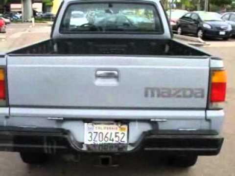 Mazda B2600 Pickup 4WD Swb 5-Spd Truck - YouTube