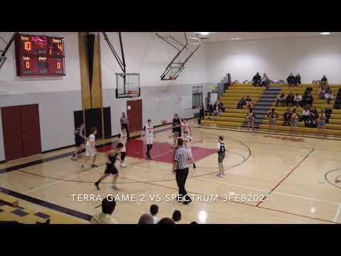 Terra Academy Game 2 vs Spectrum 3FEB2021