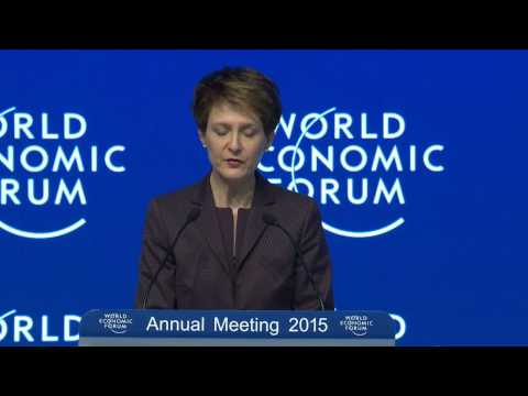 Davos 2015 - Special Address by the President of the Swiss Confederation