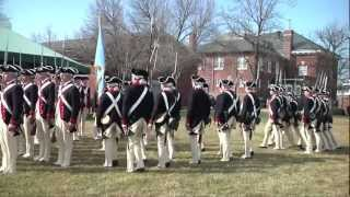 Old Guard's Commander-in-chiefs Guard Trains On Revolutionary War Movements