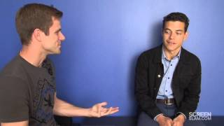 The Twilight Saga: Breaking dawn Part 2: Rami Malek Talks Robert Pattinson, Fans and the Franchise