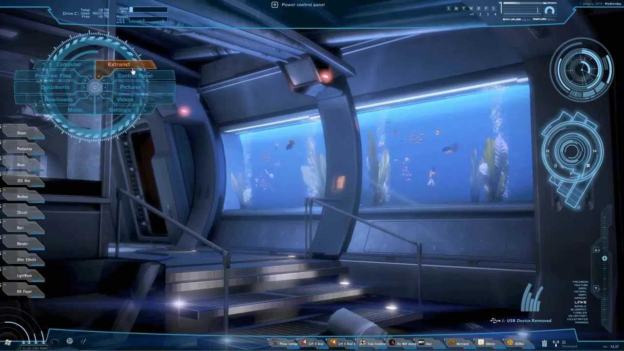 Mass Effect Animated Wallpaper Mass Effect Desktop Theme Youtube