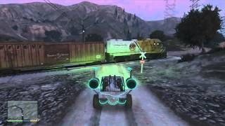 GTA 5: Spaceship Parts Cutscene