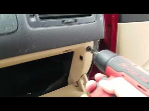 how to fix 2000 - 2005 VW Jetta golf mk4 Glove Box